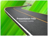 Road Templates powerpoint templates