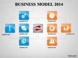 BUSINESS MODEL 2014  powerpoint templates