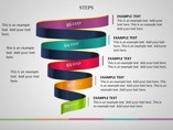 Steps Diagrams powerpoint templates