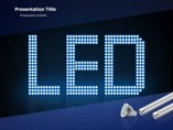 LED Lights  Industry Animations powerpoint templates