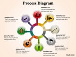 Process Diagram Diagrams powerpoint templates