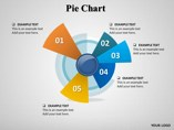 Pie Chart Charts & Data powerpoint templates