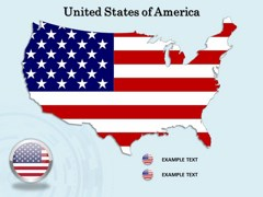 USA PowerPoint map