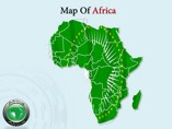 Africa Maps powerpoint templates