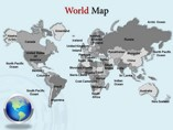 World Maps powerpoint templates