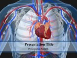 Cardiovascular System Medical powerpoint templates