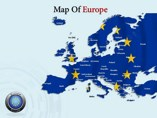 Map Of Europe  powerpoint templates