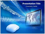 Web Surfing Science - Powerpoint Templates