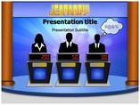 Jeopardy Game Templates powerpoint templates
