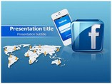 Facebook  powerpoint templates