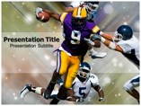 American football Templates powerpoint templates