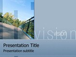 Goal Vision PPT Template Backgrounds