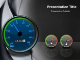 Speedometer Animations powerpoint templates