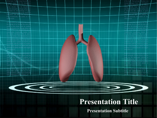 Human Lungs Medical powerpoint templates