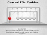 Cause and Effect Pendulum
