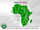 PPT Templates for Map of Africa