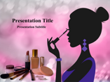 Makeup Tips Animations powerpoint templates