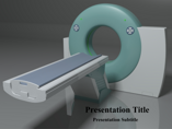 CT Scanner Medical powerpoint templates