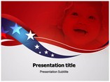 Red White and Pure Templates powerpoint templates