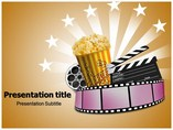 Film Entertainment Templates powerpoint templates