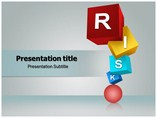 Risk Cubes Templates powerpoint templates