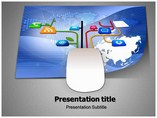 Install Internet Connect PowerPoint Template,Install Internet Connect PowerPoint Backgtounds, Install Internet Connection PPT slides