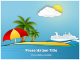Tourism Hot Spot Templates powerpoint templates