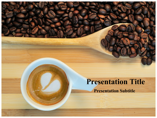 Caffeine Stimulant Drug Animations powerpoint templates