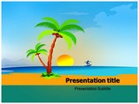 Summer fun Templates powerpoint templates