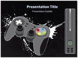 Gaming Console Templates powerpoint templates