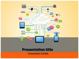 Cloud Storage Templates powerpoint templates