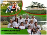Family Home Templates powerpoint templates