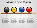 Mission and Vision Animations powerpoint templates