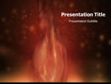 Fire Animated Animations powerpoint templates