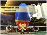 Large Aircraft  powerpoint templates