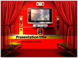 Home Theater  powerpoint templates