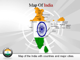 Powerpoint Templates on Map of India