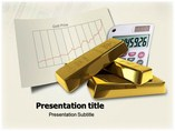 Gold Price Business powerpoint templates