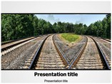 Railways Templates powerpoint templates
