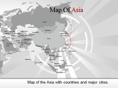 Asia PowerPoint map
