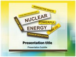 Nuclear Energy Debate Templates powerpoint templates