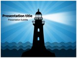 Lighthouse Templates powerpoint templates