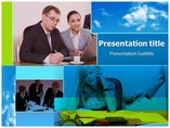 Office life Templates powerpoint templates