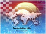 Global Technologies Templates powerpoint templates