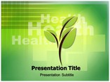 Green Health Medical powerpoint templates