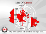Canada Maps - a Powerpoint Template