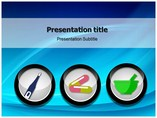 Drugstore Medical powerpoint templates