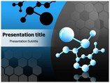 Molecular Bonds Templates powerpoint templates