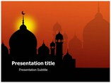 Mosques Templates powerpoint templates