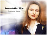 Air Hostess Career - Powerpoint Templates